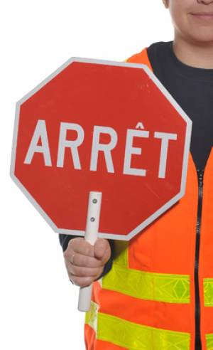 "<a href=""https://www.signel.ca/en/product/crossing-guard-paddle/"">Crossing guard paddle</a>"