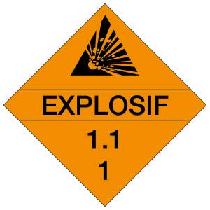 "<a href=""https://www.signel.ca/product/placards-explosifs-1-1-1/"">Placards : EXPLOSIFS 1.1.1</a>"