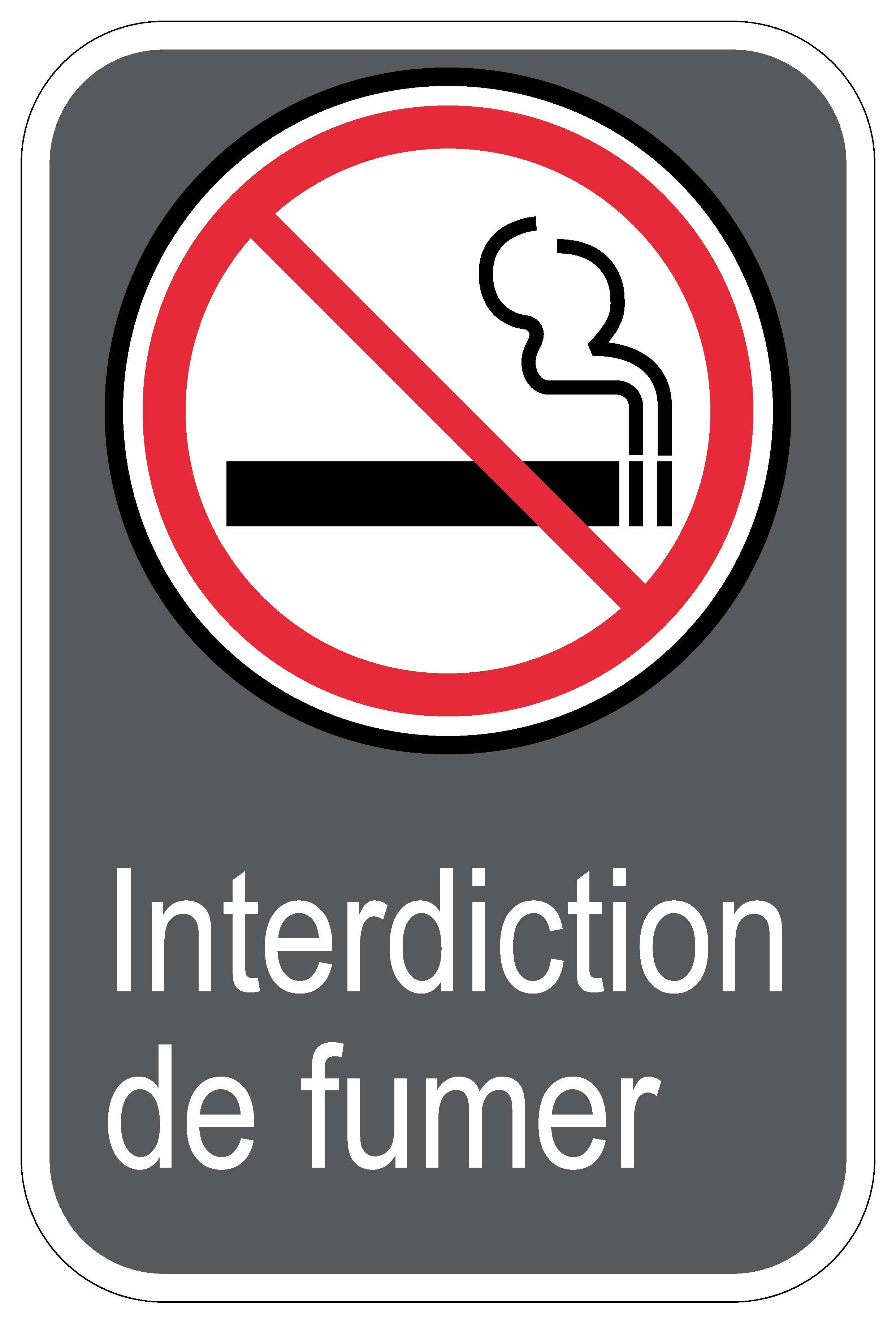Panneaux Norme Csa Interdiction De Fumer Signel Services