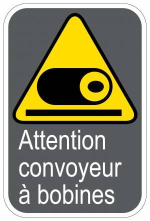 """<a href=""""https://www.signel.ca/product/panneaux-norme-csa-attention-convoyeur-a-bobines/"""">Panneaux NORME  CSA : Attention convoyeur à bobines</a>"""