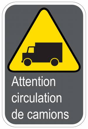 "<a href=""https://www.signel.ca/product/panneaux-norme-csa-attention-circulation-de-camions/"">Panneaux NORME  CSA : Attention circulation de camions</a>"