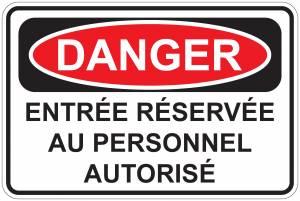"""<a href=""""https://www.signel.ca/product/panneaux-norme-osha-danger-entree-reserveer-au-personnel-autorisee/"""">Panneaux NORME OSHA : Danger : Entrée réservéer au personnel autorisée</a>"""