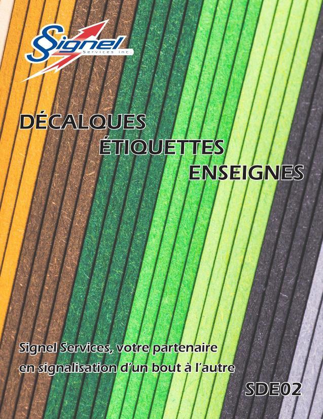 Décalques et étiquettes-SDE02