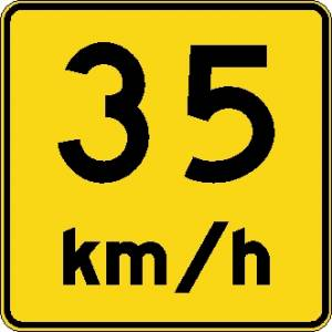 "<a href=""https://www.signel.ca/product/panonceau-vitesse-recommandee-35-kmh/"">Panonceau vitesse recommandée 35 km/h</a>"
