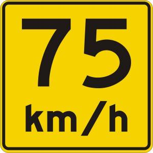 "<a href=""https://www.signel.ca/product/panonceau-vitesse-recommandee-75-kmh/"">Panonceau vitesse recommandée 75 km/h</a>"