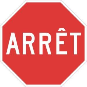 "<a href=""https://www.signel.ca/product/arret/"">Arrêt</a>"