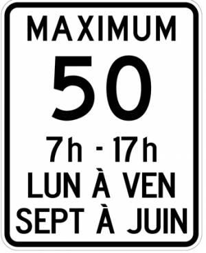 """<a href=""""https://www.signel.ca/product/limite-de-vitesse-50-km-maximum-avec-periodes-dactivites-scolaires/"""">Limite de vitesse 50 km maximum avec périodes d'activités scolaires</a>"""