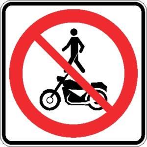 """<a href=""""https://www.signel.ca/product/acces-interdit-aux-pietons-et-aux-motocyclettes/"""">Accès interdit aux piétons et aux motocyclettes</a>"""