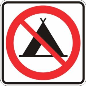 "<a href=""https://www.signel.ca/product/camping-interdit/"">Camping interdit</a>"