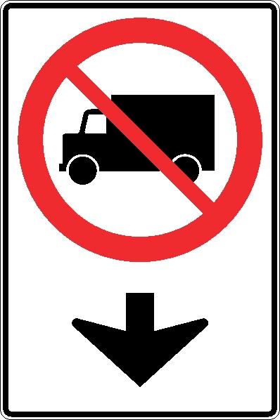 Acc s interdit aux camions dans cette voie signel services for Dans cette voie