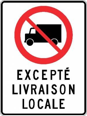 """<a href=""""https://www.signel.ca/product/camion-interdit-excepte-livraison-locale/"""">Camion interdit excepté livraison locale</a>"""