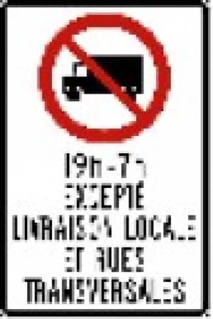 """<a href=""""https://www.signel.ca/product/camion-interdit-avec-heures-excepte-livraison-locale-et-rues-transversales/"""">Camion interdit avec heures, excepté livraison locale et rues transversales</a>"""