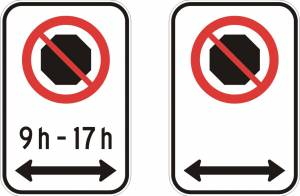 """<a href=""""https://www.signel.ca/product/interdiction-darreter-avec-ou-sans-les-heures-et-fleche-des-2-cotes/"""">Interdiction d'arrêter (avec ou sans les heures) et flèche des 2 côtés</a>"""