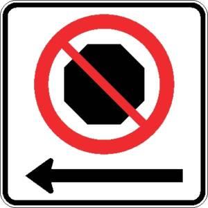 "<a href=""https://www.signel.ca/product/interdiction-darreter-fleche-a-gauche/"">Interdiction d'arrêter flèche à gauche</a>"