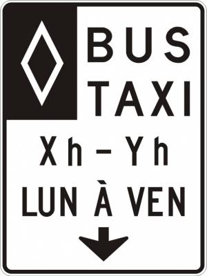 """<a href=""""https://www.signel.ca/product/voies-reservee-aux-bus-et-taxi-avec-fleche-au-centre-heures-et-jours/"""">Voies réservée aux bus et taxi avec flèche au centre, heures et jours</a>"""