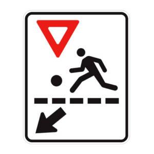 """<a href=""""https://www.signel.ca/en/product/passage-pour-enfants-pres-dun-terrain-de-jeux-fleche-a-gauche/"""">Passage pour enfants près d'un terrain de jeux, flèche à gauche</a>"""